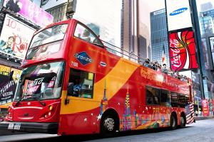 New York City Hop-on, Hop-off Tour All Around Town Double Decker Tour - 72 Hours Packages