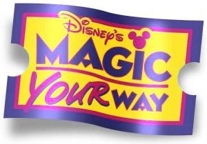 01 Day Tour Magic Your Way Magic Kingdom® Ticket Packages